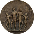 Miscellaneous Collectibles:General, 1937 Twenty-Fifth Anniversary of 1912 Stockholm Summer OlympicsMedal....