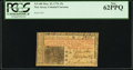 Colonial Notes:New Jersey, New Jersey March 25, 1776 15s PCGS New 62PPQ.. ...