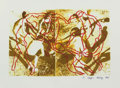 Photographs, Andrey Chezhin (Russia, b. 1960). Dance, 1993. Relief surface print. 8-3/8 x 12-3/4 inches (21.3 x 32.4 cm). Signed and ...