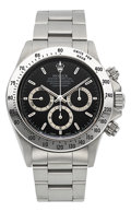 Timepieces:Wristwatch, Rolex Daytona Ref. 16520 Steel Oyster Perpetual Cosmograph Circa 1997. ...