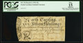 Colonial Notes:North Carolina, North Carolina March 9, 1754 15s PCGS Apparent Fine 15.. ...