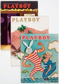 Magazines:Miscellaneous, Playboy Group of 22 (HMH Publishing, 1957-60) Condition: AverageFN.... (Total: 22 Items)