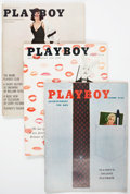 Magazines:Miscellaneous, Playboy Group of 11 (HMH Publishing, 1958-61) Condition: AverageVF+.... (Total: 11 Items)