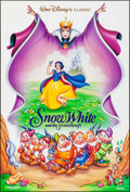 "Movie Posters:Animation, Snow White and the Seven Dwarfs (Buena Vista, R-1993/2001). One Sheet (27"" X 40"") DS & Video Poster (26"" X 40""). Animation.... (Total: 2 Items)"