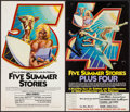 "Movie Posters:Documentary, Five Summer Stories (Associated Screen Arts, 1972/R-1976). Posters (2) (12"" X 21""). Surfing Documentary.. ... (Total: 2 Items)"
