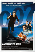 "Movie Posters:James Bond, Licence to Kill (United Artists, 1989). International One Sheet (27"" X 40""). James Bond.. ..."