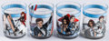 "Movie Posters:James Bond, The Spy Who Loved Me & Others Lot (1977). Decorated GlassTumblers (20 (4"" X 3"" Diameter X 10""). James Bond.. ... (Total: 20Items)"