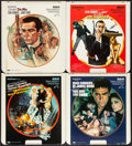 "Movie Posters:James Bond, Dr. No & Others Lot (RCA & CBS/FOX, 1980s). Video Discs(21) & Video Disc Advertisements (2) (12.75"" X 14""). JamesBond.. ... (Total: 23 Items)"