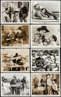 """Movie Posters:Western, When a Man Sees Red & Others Lot (Universal, 1934). Photos (130) (approx. 8"""" X 10""""). Western.. ... (Total: 130 Items)"""