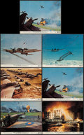 "Movie Posters:War, Battle of Britain (United Artists, 1969). Color Photos (7), Photos(16) & Behind the Scenes Photos (Approx. 8"" X 10""). War....(Total: 27 Items)"