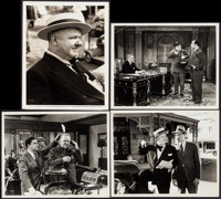 """The Bank Dick (Universal, 1940). Photos (4) (8"""" X 10"""") and R-1949 Pressbook (4 pages). Comedy. ... (Total: 4 I..."""