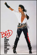 """Movie Posters:Rock and Roll, Michael Jackson: Bad (CBS Records, 1988). Album Posters (10)Identical (24"""" X 35.75""""). Rock and Roll.. ... (Total: 10 Items)"""