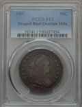 Early Half Dollars, 1807 50C Draped Bust, O-103a, T-11, R.3, Fine 15 PCGS. PCGSPopulation: (1/3). NGC Census: (0/6). ...