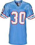 Football Collectibles:Uniforms, 1988-89 Mike Rozier Game Worn Houston Oilers Jersey....