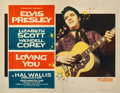 "Movie Posters:Elvis Presley, Loving You (Paramount, 1957). Half Sheet (22"" X 28"") Style B.. ..."