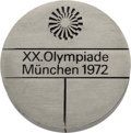 Miscellaneous Collectibles:General, 1972 Munich Summer Olympic Participation Medal....