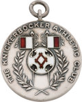 Basketball Collectibles:Others, 1900 Knickerbocker Athletic Club Basketball Medal....