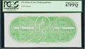 Confederate Notes:Group Lots, $100 Chemicograph Back Intended for Confederate Currency ND(1864).. ...
