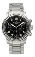 Timepieces:Wristwatch, Blancpain Flyback Chronograph Wristwatch . ...