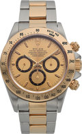 Timepieces:Wristwatch, Rolex Ref. 16523 Two Tone Oyster Perpetual Cosmograph Daytona,circa 1990. ...