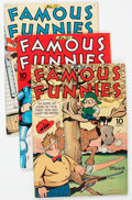 Golden Age (1938-1955):Miscellaneous, Famous Funnies Group of 20 (Eastern Color, 1944-51) Condition: Average FN/VF.... (Total: 20 Comic Books)