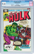 Modern Age (1980-Present):Superhero, The Incredible Hulk #271 (Marvel, 1982) CGC NM 9.4 White pages....