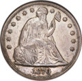Seated Dollars, 1870-S $1 XF40 NGC....