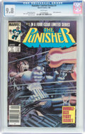 Modern Age (1980-Present):Superhero, Punisher (Limited Series) #1 (Marvel, 1986) CGC NM/MT 9.8 White pages....