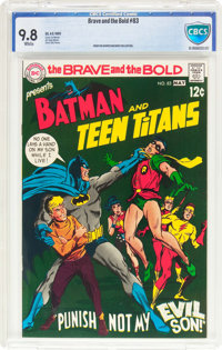 The Brave and the Bold #83 Batman and the Teen Titans (DC, 1969) CBCS NM/MT 9.8 White pages