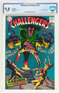Silver Age (1956-1969):Superhero, Challengers of the Unknown #62 (DC, 1968) CBCS NM/MT 9.8 White pages....