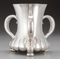 Silver Holloware, American:Loving Cup, A Tiffany & Co. Silver Three-Handled Loving Cup, New York, NewYork, circa 1892-1902. Marks: TIFFANY & CO, 10621 MAKERS55...