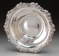 Silver Holloware, American:Bowls, A Large Tiffany & Co. Silver Bowl with Clover Blossom Motif,New York, New York, circa 1892-1902. Marks: TIFFANY & CO,187...