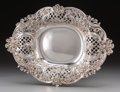 Silver Holloware, American:Bowls, A Tiffany & Co. Silver Reticulated Center Bowl, New York, NewYork, circa 1902-1907. Marks: TIFFANY & CO, 10992 MAKERS467...