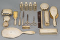 Silver Holloware, American:Vanity, A Nineteen-Piece Tiffany & Co. Gilt Silver Vanity Set, NewYork, New York, 1907-1947. Marks: TIFFANY & CO, 15088GMAKERS 7... (Total: 17 Items)
