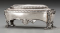 Silver Holloware, Continental:Holloware, An Imperial Russian Silver Toilet Box from the Wedding Service ofGrand Duchess Maria Nikolaevna and Maximilian de Beauharnais...