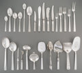 Silver Flatware, Continental:Flatware, A One Hundred and Thirty-Seven Piece Thorvald Marthinsen PrinceHarald Pattern Silver Flatware Service for Eight w... (Total:139 Items)