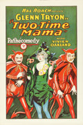 "Movie Posters:Comedy, Two-Time Mama (Pathé, 1927). One Sheet (27"" X 41"").. ..."
