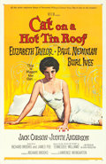 "Movie Posters:Drama, Cat on a Hot Tin Roof (MGM, 1958). One Sheet (27"" X 41"") Reynold Brown Artwork.. ..."