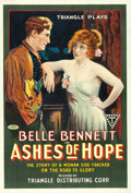 "Movie Posters:Western, Ashes of Hope (Triangle, 1917). One Sheet (27.75"" X 41"") Style #1.. ..."