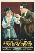 "Movie Posters:Drama, Miss Innocence (Fox, 1918). One Sheet (27.5"" X 41.5"").. ..."
