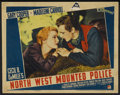 "Movie Posters:Adventure, North West Mounted Police (Paramount, 1940). Lobby Card (11"" X14""). Adventure. ..."