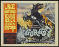 "Movie Posters:Science Fiction, Gorgo (MGM, 1961). Title Lobby Card (11"" X 14""). Science Fiction...."