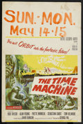 "Movie Posters:Science Fiction, The Time Machine (MGM, 1960). Window Card (14"" X 21""). ScienceFiction. ..."