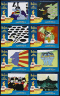 "Movie Posters:Animated, Yellow Submarine (United Artists, R-1999). Lobby Card Set of 8 (11"" X 14""). Animated. ... (Total: 8 Items)"