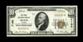 National Bank Notes:Kansas, Meade, KS - $10 1929 Ty. 1 The First NB Ch. # 7192. ...