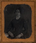 Photographs:Historical Photographs, Unknown (19th Century). Group of Seventeen Portraits. Daguerreotypes. sizes range from 3 x 2-1/4 inches (7.6 x 5.7 cm) t... (Total: 17 Items)