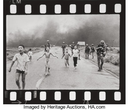 Nick Ut (Vietnamese, b. 1951) Vietnam Napalm (The Terror of War), June 8, 1972 Gelatin silver full-frame enlarged prin...