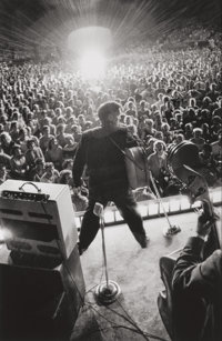 Alfred Wertheimer (German/American, 1929-2014) Starburst, Elvis Presley performs live at concert at Russwood Pa