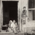 Photographs:Gelatin Silver, Irving Penn (American, 1917-2009). Woman and child in ashopfront, India, 1947. Gelatin silver. 6-5/8 x 6-3/4 inches(16...