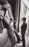 Photographs:Gelatin Silver, Jean-Philippe Charbonnier (French, 1921-2004). Backstage at the Folies Bergère, Paris, 1960. Gelatin silver, 2000. 17-3/...